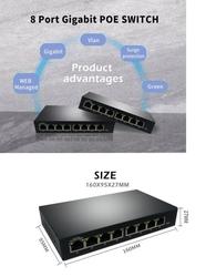 - 8-Port Full Gigabit Web Managed Ethernet Switch (1)