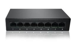 ENTEGRON - Entegron 8-Port Gigabit unmanaged Switch, 8 Gigabit METAL KASA