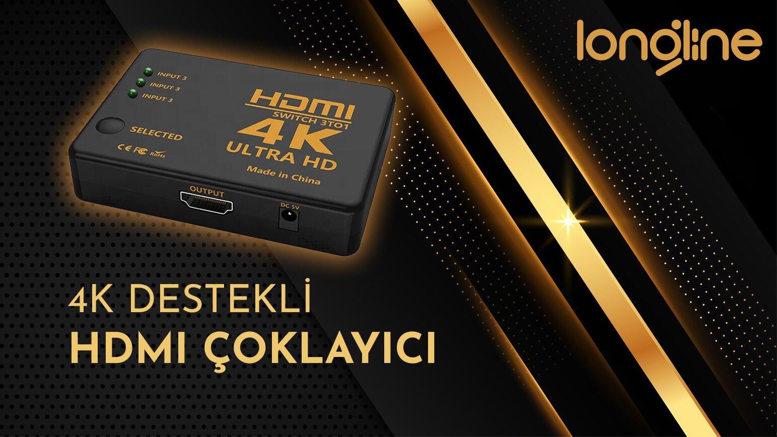4K HDMI ÇOKLAYACI